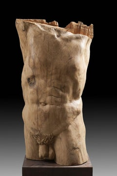 torso 3. original wood sculpture