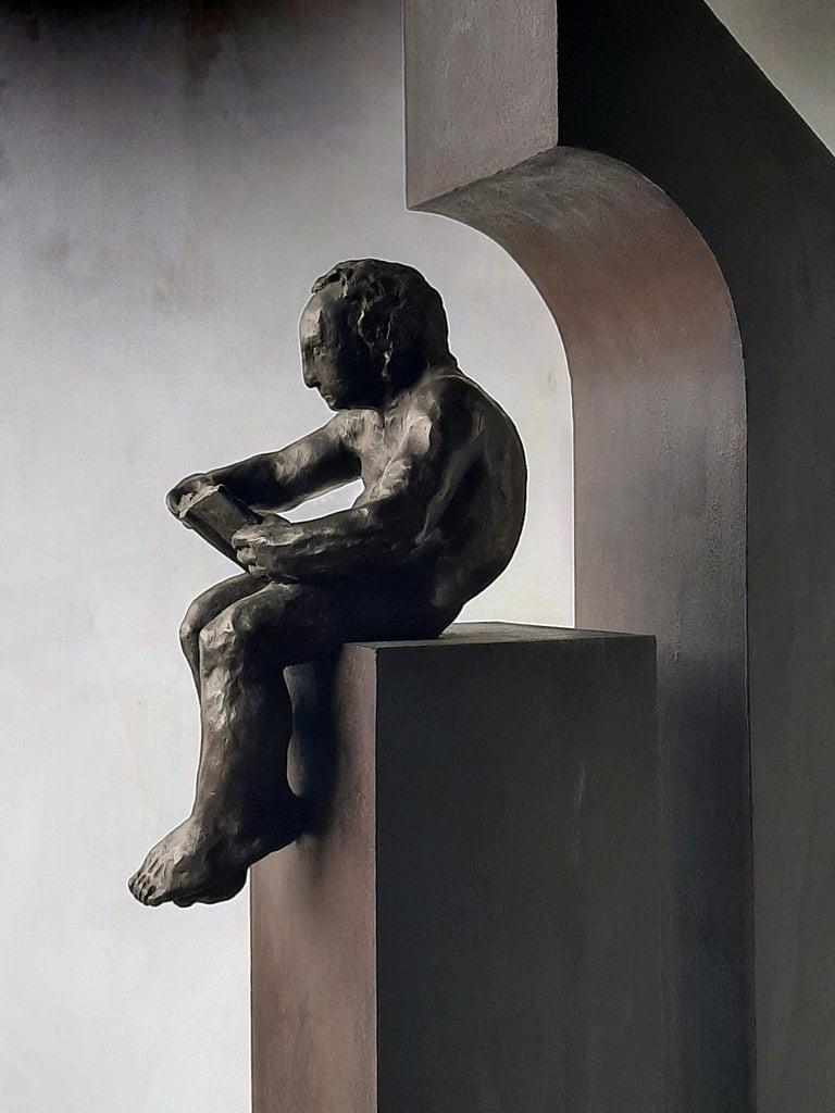 la casa II. original sculpture iron bronze For Sale 3