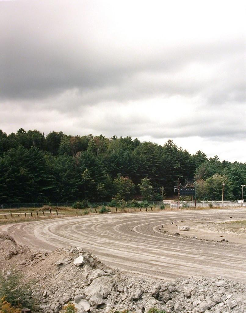 """""""Untitled (New Hampshire dirt track)"""" American Landscape Photograph"""