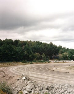 """Untitled (New Hampshire dirt track)"" American Landscape Photograph"