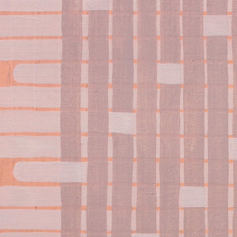 'Delicate' - Abstract Painting - Earth Pigments - Anni Albers - Agnes Martin 2
