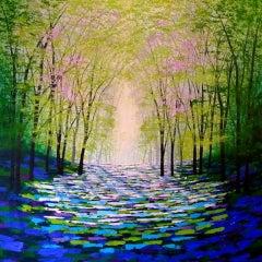 Amanda Horvath, Forest of Magic, Woodland Art, Landscape Art, Affordable Art