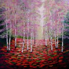 Amanda Horvath, Rose and Amber Wood, Landscape Art, Affordable Art