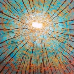 Amanda Horvath, Sky Dreaming Blue, Original landscape painting