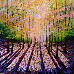 Amanda Horvath, Spellbound, Landscape Art, Original Contemporary Painting