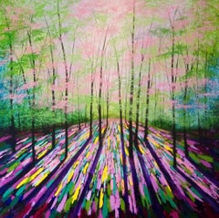 Amanda Horvath, Spring of Life, Original Landscape Art, Affordable Art