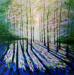 Amanda Horvath, Summer Sanctuary, Original Contemporary Landscape Painting
