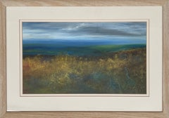 British Landscape Painting of Cornish Moorland by Contemporary Seascape Artist