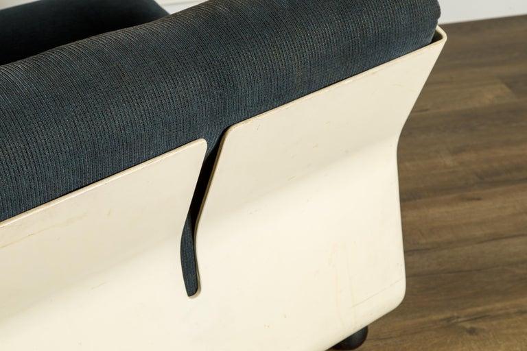 'Amanta' Fiberglass Lounge Chair by Mario Bellini for C&B Italia, c. 1966 Signed For Sale 7