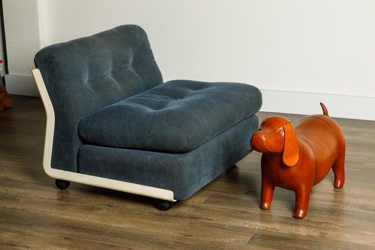 'Amanta' Fiberglass Lounge Chair by Mario Bellini for C&B Italia, c. 1966 Signed For Sale 13
