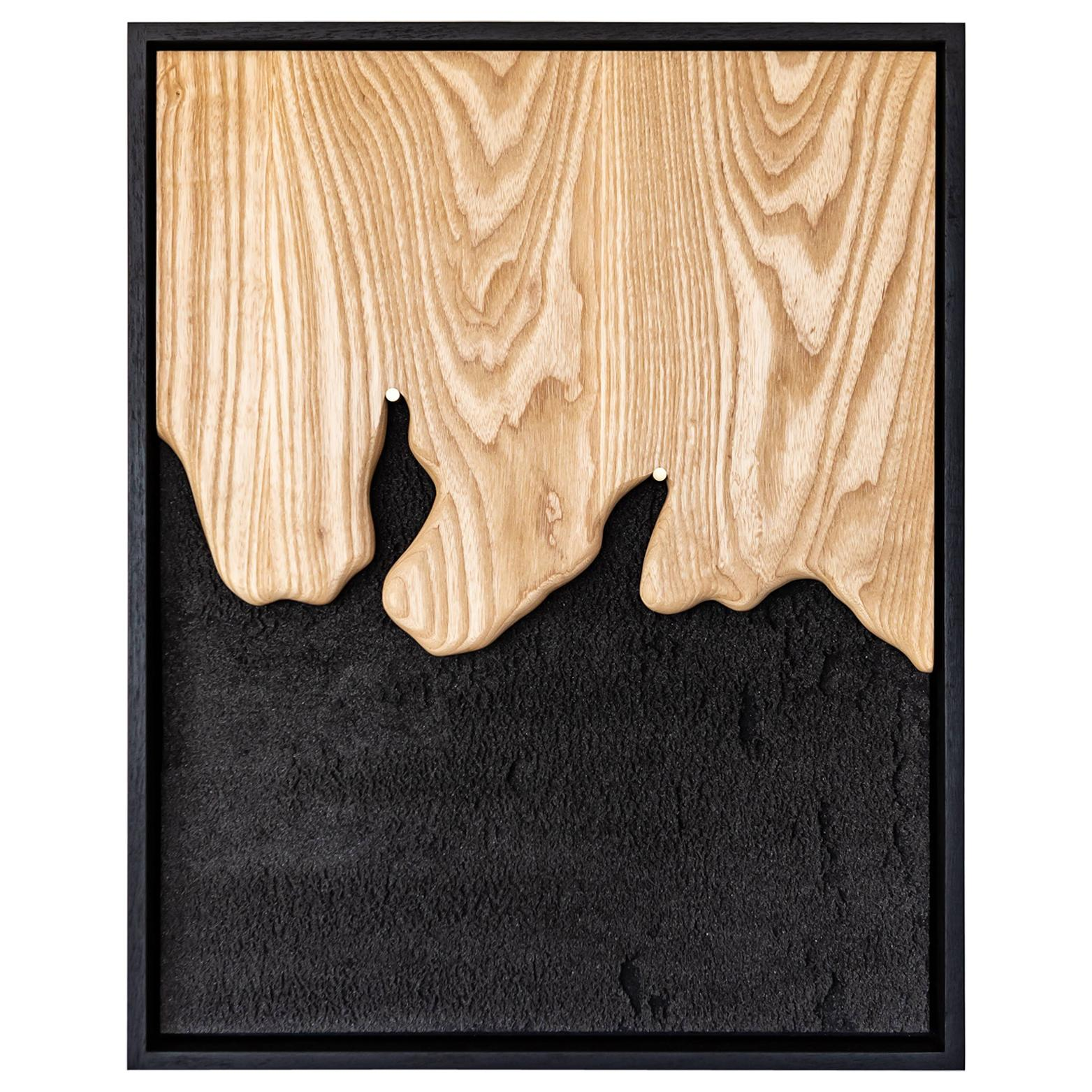 Amar #1 Contemporary Wall Sculpture by Marcos Amato, One of a Kind 1/1