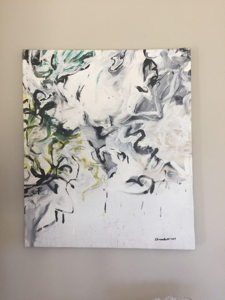 Grand Rapids 5 - Abstract Expressionist Painting by Amaranth Ehrenhalt