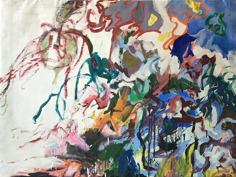 Amaranth Ehrenhalt Abstract Painting - Splash 2