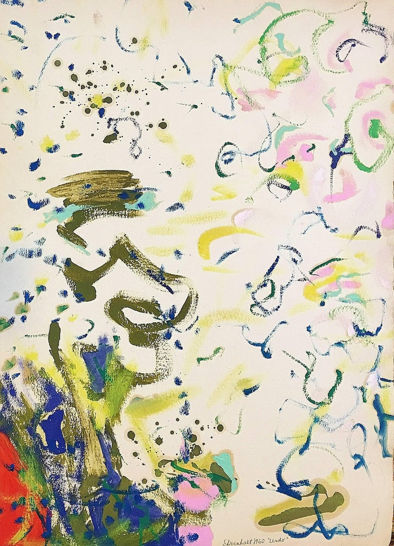 Amaranth Ehrenhalt Abstract Painting - Urdo