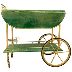 Amazing Aldo Tura Bar Cart, Nicest Color