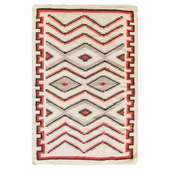 Amazing Antique Navajo Rug