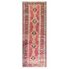 Amazing Antique Northwest Persian Azarbaijan, Heriz Runner