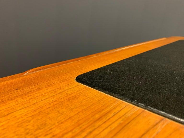 Danish Amazing Arne Wahl Iversen Standing Desk and Secretaire Model 67 For Sale
