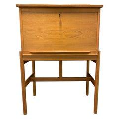 Amazing Arne Wahl Iversen Standing Desk and Secretaire Model 67