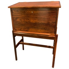 Amazing Arne Wahl Iversen Standing Desk and Secretaire Model 67