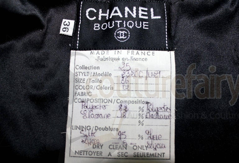 Amazing Black Chanel Sequin Silk Evening Dress Coat Jacket For Sale 4
