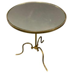 Amazing Brass Side Table