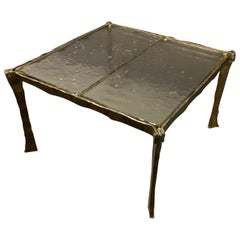 Amazing Bronze Coffee Table by Lothar Klute