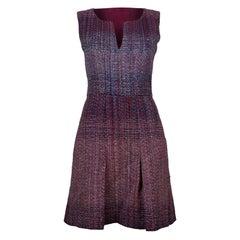 Amazing Chanel Dress in Multicolor tweed