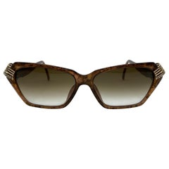 Amazing Christian Dior Vintage Cat Sunglasses 1980s