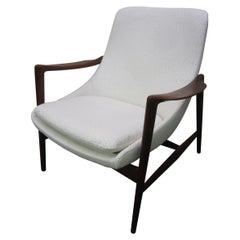 Amazing Danish Modern Ib Kofod Larson Style Teak Lounge Chair