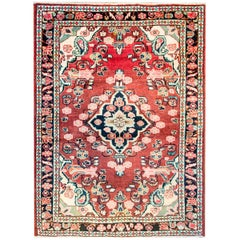 Amazing Early 20th Century Mahal Rug