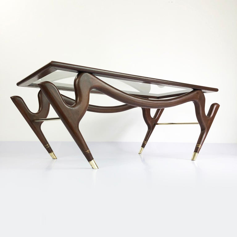 Mid-Century Modern Amazing Floating Coffee Table by Eugenio Escudero For Sale