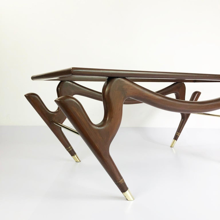 Mexican Amazing Floating Coffee Table by Eugenio Escudero For Sale
