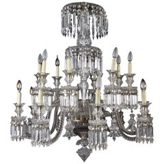 Amazing French Crystal Chandelier, 1940