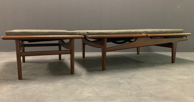 Mid-Century Modern Amazing Hans Wegner Ge-1 Daybed For Sale