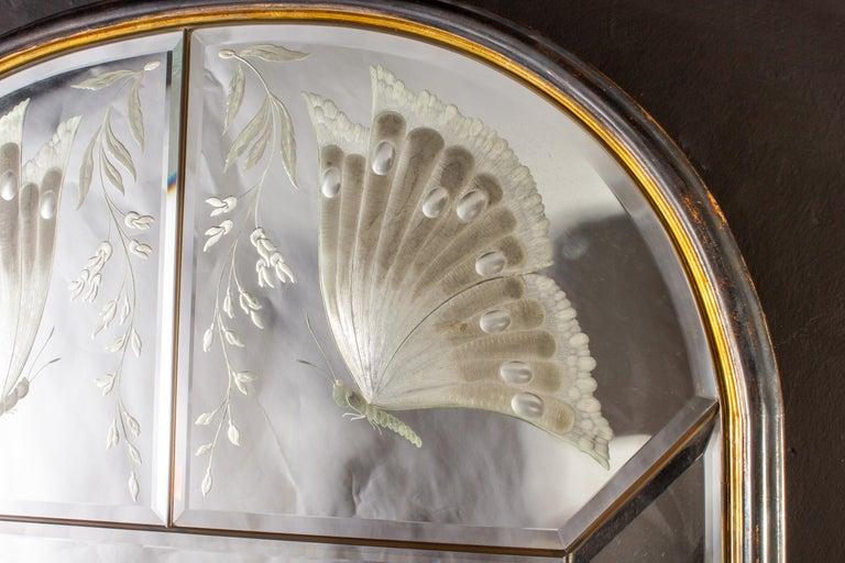 Amazing Italian Art Deco Mirror, 1940' In Good Condition For Sale In Rome, IT