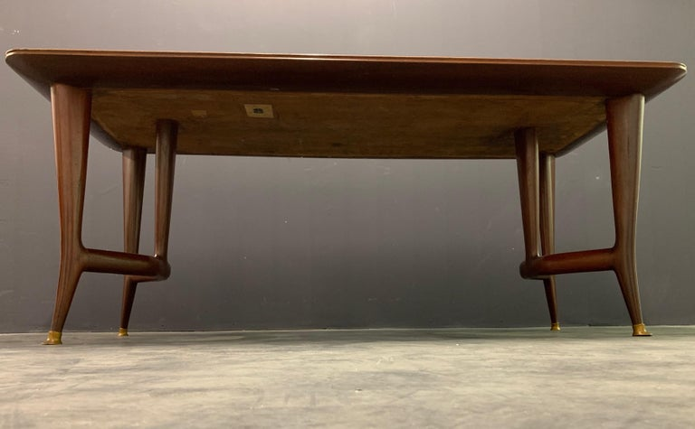 Mid-20th Century Amazing Italian Desk or Dining Table by Guglielmo Ulrich For Sale