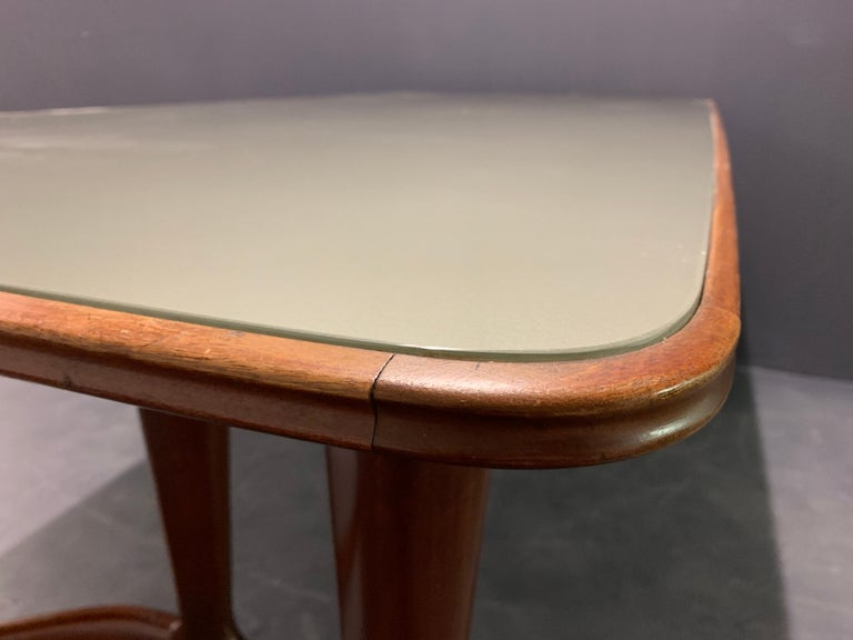 Amazing Italian Desk or Dining Table by Guglielmo Ulrich For Sale 2