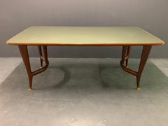 amazing italien desk or dining table attributed to gio ponti