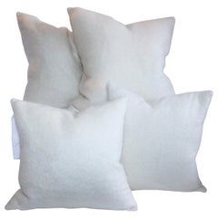 Amazing Lambs Wool Pillows, Two Pairs