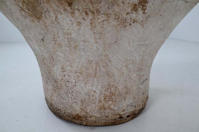 Amazing Large Greek Patinated Terracotta Jar from the Early 20th Century For Sale 9