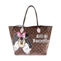"Amazing LV Neverfull MM handbag customized "" Bambi&Butterflies"" by PatBo !"