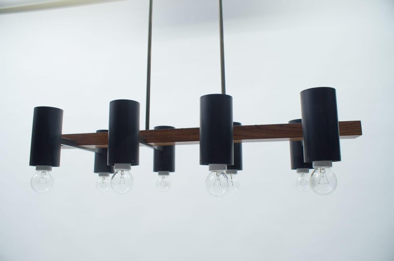 Amazing Mid-Century Modern Pendant Lamp or Hanging Light, 1960s For Sale 7