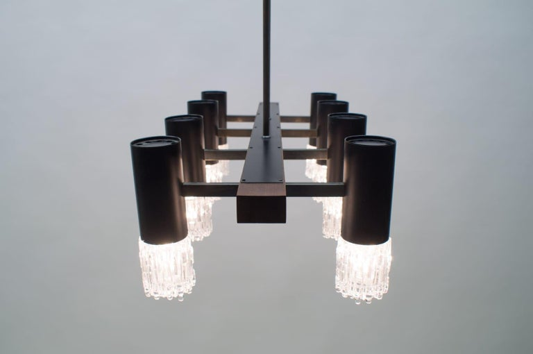Amazing Mid-Century Modern Pendant Lamp or Hanging Light, 1960s For Sale 8
