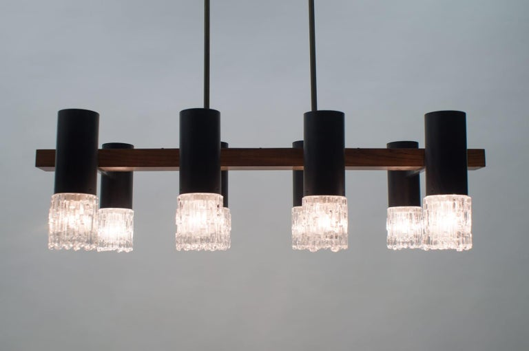 Amazing Mid-Century Modern Pendant Lamp or Hanging Light, 1960s For Sale 9