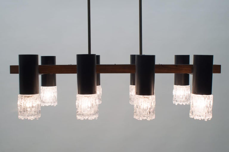 Amazing Mid-Century Modern Pendant Lamp or Hanging Light, 1960s For Sale 11