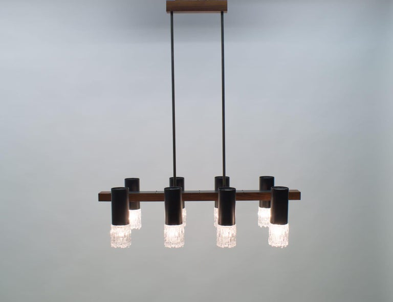 Amazing Mid-Century Modern pendant lamp or hanging light, 1960s.