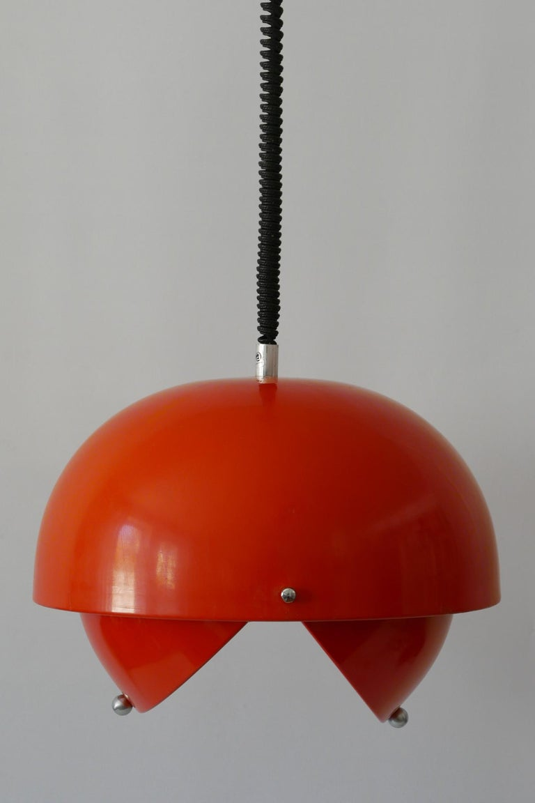 Amazing Mid-Century Modern Pendant Lamp or Hanging Light by Archi Design Italy For Sale 4