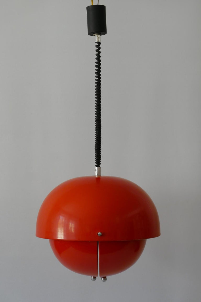 Amazing Mid-Century Modern Pendant Lamp or Hanging Light by Archi Design Italy For Sale 5