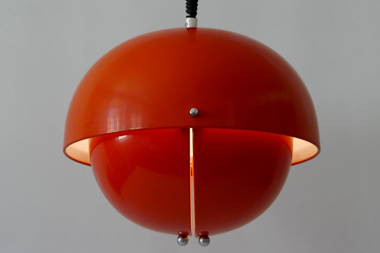 Amazing Mid-Century Modern Pendant Lamp or Hanging Light by Archi Design Italy For Sale 7